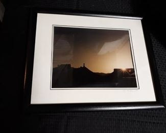 Wood Framed Signed Photo Print by Lois F Claus