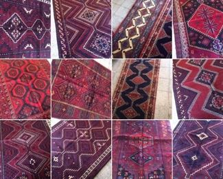 These are Persian hand knotted Design Rugs, that we are Liquidating at Below of cost, in different sizes, Design and price Example Liquidating Price:  4' X 7' = from $159 5' X 8' = from $359 8' X 10' = from $699 We accept  any reasonable offer/ Price