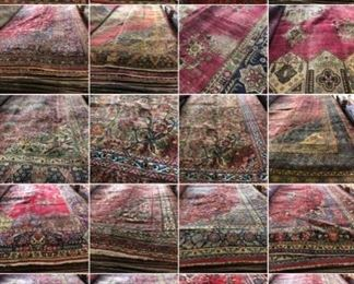 These are Persian  hand knotted Design Rugs, that we are Liquidating at Below of cost, in different sizes, Design and price Example Liquidating Price:  7' X 10' = from $299 8' X 11'= from  $399                                                                       10' X 14' = from $799                                                                We accept  any reasonable offer/ Price