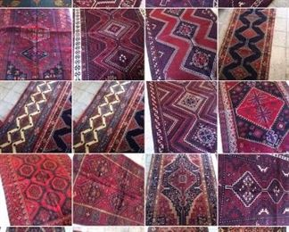 These are Persian hand knotted Design Rugs, that we are Liquidating at Below of cost, in different sizes, Design and price Example Liquidating Price:  4' X 6' = from $199 5' X 8' = from $299 8' X 10' = from $499 We accept  any reasonable offer/ Price