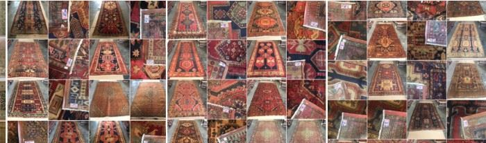 These are Persian  Fine hand knotted Design Rugs, that we are Liquidating at Below of cost, in different sizes, Design and price Example Liquidating Price:  4' X 6' = from $299 5' X 8' = from $499 8' X 10' = from $799 We accept  any reasonable offer/ Price