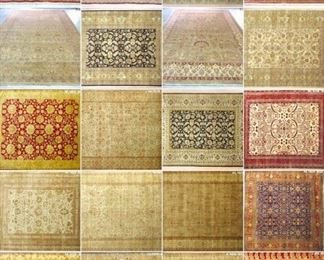 These are Indian Fine hand knotted Design Rugs, that we are Liquidating at Below of cost, in different sizes, Design and price Example Liquidating Price:  4' X 6' = from $299 5' X 8' = from $499 8' X 10' = from $999 We accept  any reasonable offer/ Price