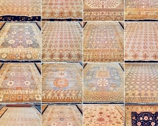 These are Pakistani Fine hand knotted Design Rugs, that we are Liquidating at Below of cost, in different sizes, Design and price Example Liquidating Price:  4' X 6' = from $299 5' X 8' = from $599 8' X 10' = from $999 We accept  any reasonable offer/ Price