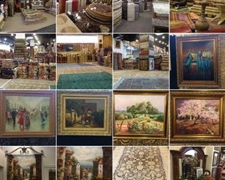 These are Turkish & Persian Fine hand knotted Design Rugs , Kilims, Art, Painting , that we are Liquidating at Below of cost, in different sizes, Design and price we accept any reasonable price / offer