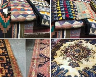 These are Turkish & Persian Fine hand knotted Design Rugs & Kilims, that we are Liquidating at Below of cost, in different sizes, Design and price we accept any reasonable price / offer