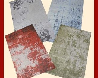 Micro Chenille Jacquard woven Rugs: Carefully woven on Jacquard looms with high quality Micro polyester  Chenille yarn on the top cotton rich backing fabric to ensure every room is perfect  & gives a truly luxurious feel  65% polyester, 35% cotton  2' X 8' = Retail price $ 90, NOW on Liquidator sale           Only $19 5'  X 8'= Retail price $190, NOW on Liquidator  sale Only $49 8' X 11'= Retail price $390, NOW on Liquidator  sale     Only $99 If you buy More than 10 Rugs , 30% additional discount