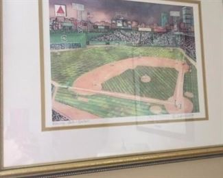 """The Green Monster"" Fenway park in Boston perfect for you Boston Red Sox fans"