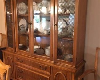 dining room china cabinet to match table and sideboard
