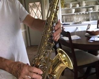 Yamaha student model alto sax with hard case $600.00