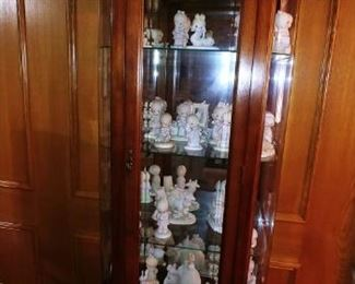 Curio Cabinet Full of Precious Moments