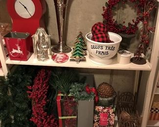 A sampling of the many seasonal and holiday-themed items to be found.