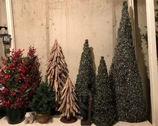 Large selection of holiday décor.