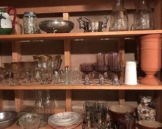 If you like to entertain, you will love the huge selection of fun, quality glassware and dinnerware at this sale.