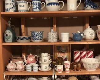 Hundreds of fun pieces of pottery, chinaware, etc.