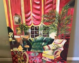 Colorful artwork.