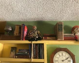 Books/ Clock
