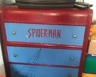Spiderman dresser