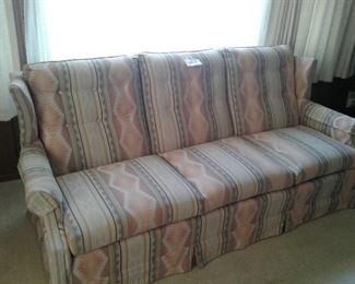 Aztec Southwestern Style Pattern Sofa