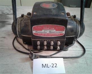 Lionel Trainmaster Transformer Type VW