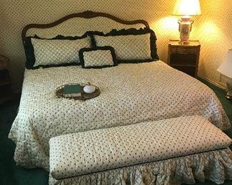 King bedding ensemble