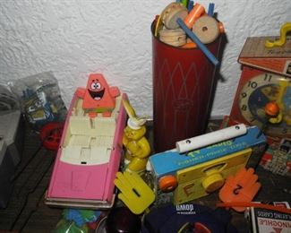More vintage toys