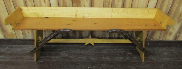 "5' 5"" Wooden Bench"
