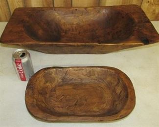 2 of Several Wooden Bowls
