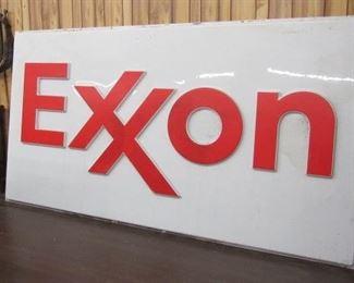 11' Plastic EXXON Sign