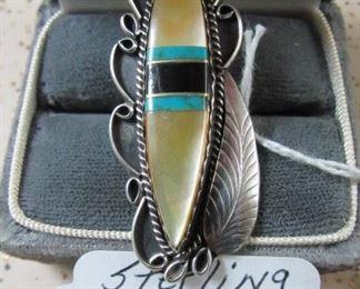 Sterling Navajo Ring