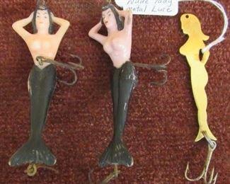 Mermaid & Nude Lady Fishing Lures