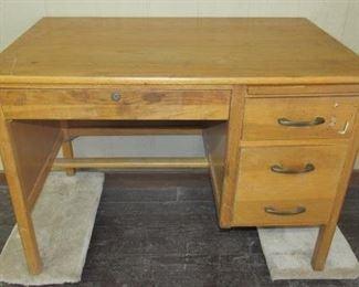 Small Oak Office Desk