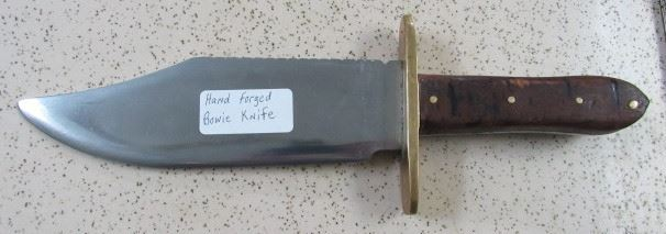 Hand Forged Bowie Knife