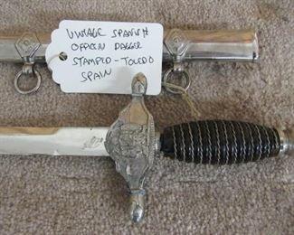 Spanish Officers Dagger