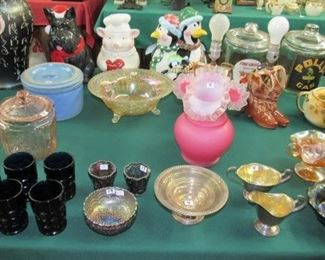 Cookie Jars & Glassware