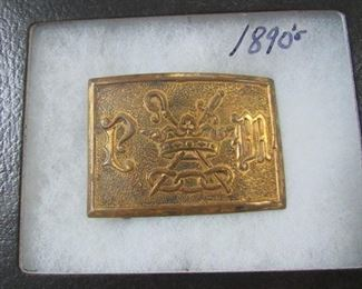 1890's Belt Buckle - 1 of 4 in Auction