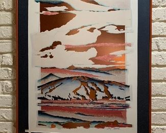 Original  Daryl Howard  Lithograph - Magic Moments of Copper Mountains