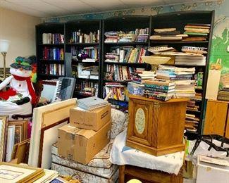 Books, Book cases