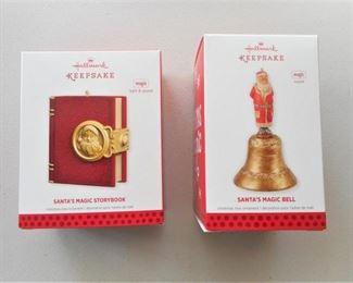 2 Hallmark Keepsake Ornaments - light & sound https://ctbids.com/#!/description/share/209192