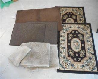 Lot of 8 rugs - misc sizes & colors https://ctbids.com/#!/description/share/209278