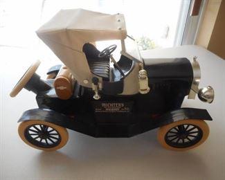 Michters whiskey bottle - Antique Chevy car https://ctbids.com/#!/description/share/209292