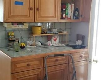Beautiful solid wood kitchen cabinets mfg. by Wellborn Cabinet, Inc.