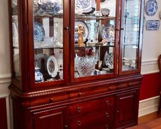 Available for PRE-SALE - Lighted China Cabinet Hutch - $350