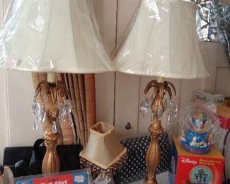pair new lamps