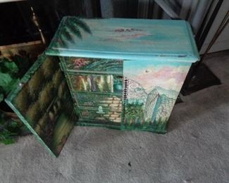 small cabinet, great for jewelry