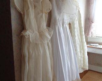 vintage and not so vintage wedding dresses