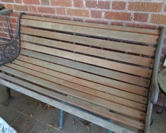 several benches
