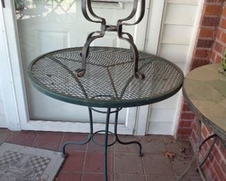 2 pieces of patio
