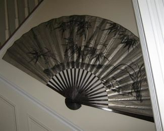 Decorative hand painted Fan