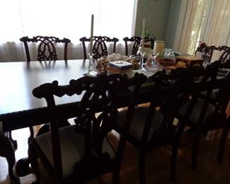Large 8 ft Dining Table