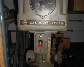 CLausing Brand  drill press, this is a tall standing floor drill press  .  7.5""